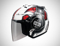 SOL-SL 27S-0179,Open Face,3/4 Helmet,DJ Series,White,8 Colors All In,Motorcycle,High Quality EPS,Anti-UV 400 Lens,DOT Test