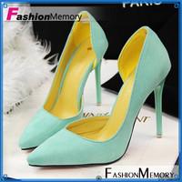 Sexy Vintage Red Bottom Pointed Toe High Heels Women Pumps 2014 Brand Design Less Platform Black Summer Shoes OL Pumps ADM831