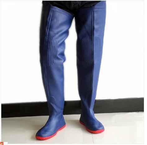 Livraison gratuite ultra- haute genou,- haute bottes,'pantalon bottes, hommes, plantation d'eau. chaussures bottes cuissardes de pêche d'eau.'pantalon