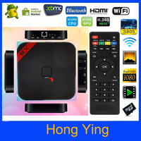 Free Shipping Miracast XBMC X5II RK3188 Quad-core Android 4.2 TV Box 2G/8G Smart Tv Box with Bluetooth HDMI Infra+Remote Control