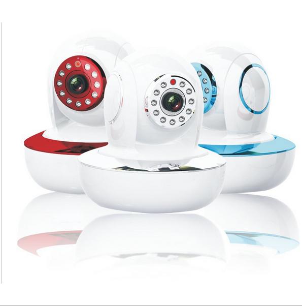 """1/4"""" MP CMOS Sensor Hi3518C alarm/WIFI Mini IP camera Dual Audio Pan/Tilt Home Security Video Surveillance System CCTV Camera(China (Mainland))"""