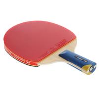TIMO BOLL 5 double table tennis ball table tennis racket table tennis blade pingpong table tennis bat longhandle shakehand