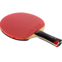 TIMO BOLL 6 double table tennis ball table tennis racket table tennis blade pingpong table tennis bat longhandle shakehand
