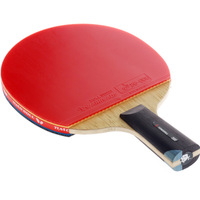 TIMO BOLL 8 double table tennis ball table tennis racket table tennis blade pingpong table tennis bat longhandle shakehand