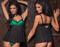Sexy Women Lady Lingerie Open G-String Nightwear Nightdress Babydoll Underwear    M110-1