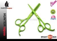 "New Product: 5.5"" Colorful Beauty Hair Salon Cutting Scissors Set razor+Thinning Shear With a bag,440C Barber Scissor Kits"