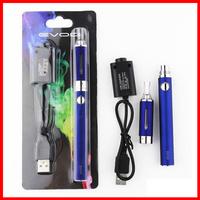 Drop shipping eVod MT3 Blister kit Electronic Cigarette MT3 atomizer with 650mAh 900mAh 1100mAh eVod Battery