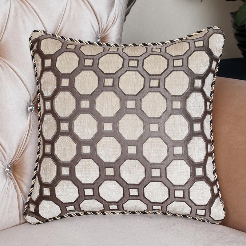 Big Cushion Sofa Cushion Pillow Kaozhen Core Big Back  : Free shipping Meters grey quality pillow cushion modern 055 pillow sofa cushion chenille font b bed from mattressessale.eu size 800 x 800 jpeg 421kB