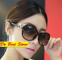 4S597 2014 free shipping 1pcs new  womens Sunglasses  Leopard Sunglasses Fashionable Sunglasses