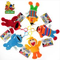 Genuine Sesame Street plush toys, plush toys wholesale pendant hanging buckle