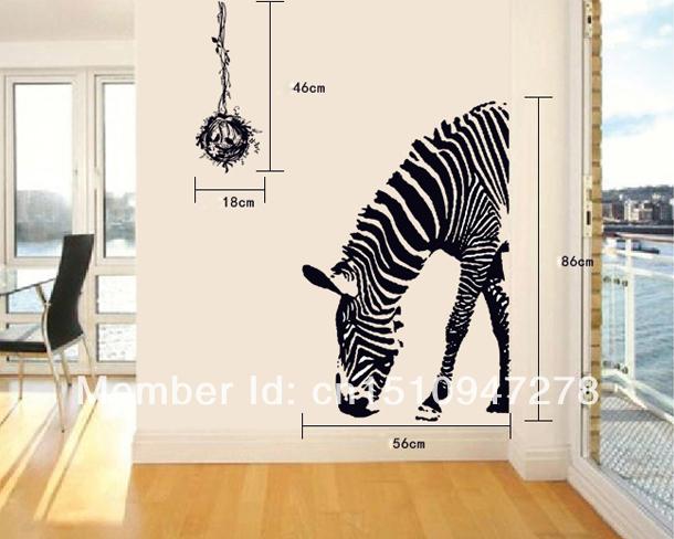 zebra wohnzimmer:Online Kaufen Großhandel Zebra Wand Kunst aus China Zebra Wand Kunst