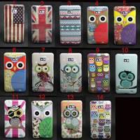 Owl Tribal Pattern Tpu Gel Soft Skin Case Cover For Samsung Galaxy S2 i9100