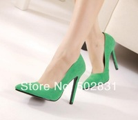 Fashion sweet 2014 fashion pointed toe thin heels high-heeled shoes elegant women's shallow mouth sexy single shoes