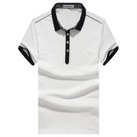 2014 New Fashion Good Quality Cotton Casual Shirt Men's Shirts Short Turn Down Collar Solid Man Clothing SHIRTS-2240638