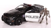 Action figures Police cars loose robots classic toys for children original brand human alliance Barricade+Frenzy without box