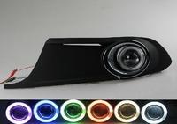 2012 VW new Sagitar Fog Lamp Assembly Angel Eyes Fog Light Lamps (Pairs)