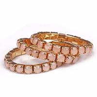 Fashion fashion accessories bracelet gold all-match fashion elegant gem bracelet female