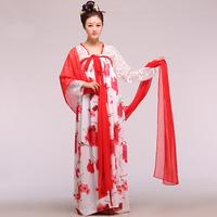 White safflower elegant dress white and blue flower elegant dress