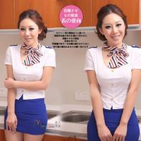Stewardess uniforms professional service game uniforms role installed Photography clothing tie Prynne stewardess