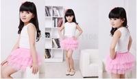 2014 new One set retail girl skirt baby tutu skirt  A48 high quality
