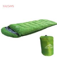 1set professional camping&hiking winter single adult cotton sleeping bag equipment free shipping!