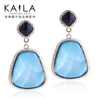Kaila earrings fashion queen female fashion earrings blue elegant fashion new arrival