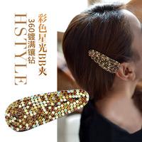 Kaila multicolour starlight bb hairpin fashion diamond hair accessory czech rhinestone multicolor