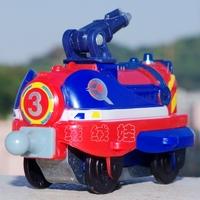 100% TOMY/LEARNING CURVE CHUGGINGTON TRAIN - CP3 JET SPRAYER CAR