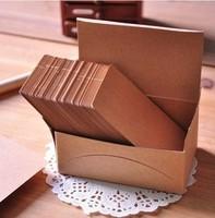 Free Shipping DIY Kraft Card Scrapbooking Paper Christmas Postcard Greeting Postcards Shaper Punch Craft 50pcs postcard
