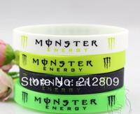 2013 hotsale silicone bracelet  monster wristband 202*12*2mm size 18 pcs/lot  free shipping