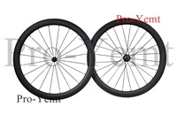 Super light!2014 NEW Free shipping racing bicycle 50mm Clincher no paint Carbon wheels Basalt Braking Surface Titanium Skewers