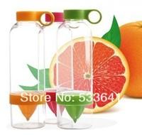 Wholesale Freeshipping lemon juice manually energy cup juice bottle 800ml juicer 6pcs/lot