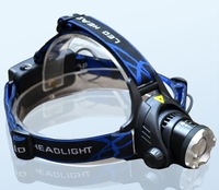 Freeshipping! XLamp Q5  LED headlight/Headlamp Adjustable retractable zoom 18650 charge waterproof