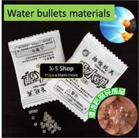 Water bullets materials