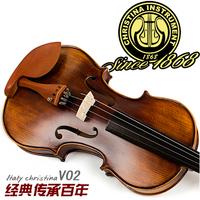FREE SHIPPING DHL Christina violin handmade violin quality child adult musical instrument