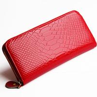 Women's clutch 2014 female wallet long zipper design women's money clip japanned leather women's wallet