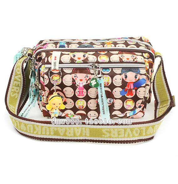 Free shipping doll messenger bag shoulder bag handbag women's camera bag(China (Mainland))