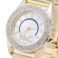 2014 Men And Women Fashion Watches, Promote Latest Luxury Quartz Watches, Rhinestone Fashion Gift Watches
