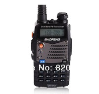 Upgrade Edition UV-5A VHF/UHF Handheld Transceiver Dual Band FM Two Way Radio Baofeng  Walkie Talkie With Earphone Free Shipping