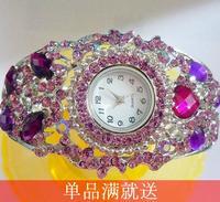 Do not contain electronic Love drop bell summer 2014 purple bracelet watch ladies watch
