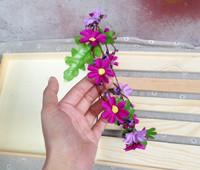 FreeShipping !! Handmade Bohemia Vintage Fairy Daisy Flower Hair Garishness Bridal Hair Accessory