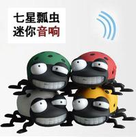 Coccinella mini cartoon sound portable card usb flash drive speaker radio webcasts