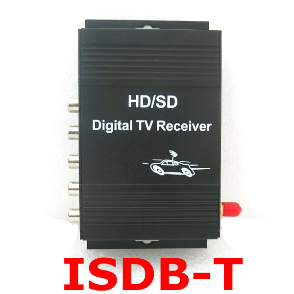 ISDB-T Digital TV receiver car isdb-t Brazil One segment digital TV turner all for South America(China (Mainland))