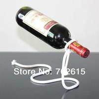 New arrivral retail creative suspension iron wine holder  home exotic kitchen living room decor beer holder bar wine rack