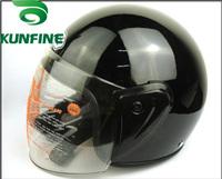 Free Shipping Wholesale Price Open Face ebick helmets motorcycle helmets with neckerchief winter helmet  DOT Certification
