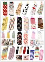 Girl's leg warmers leggings socks heart rainbow colorful design 28 cm baby size free shipping