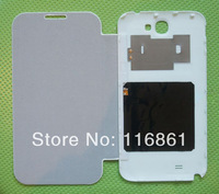 New Luxury Ultra Thin Leather PU Hard Back Flip Case Cover With NFC Wireless Charging for Galaxy Note II N7100