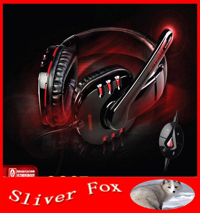 High Quality Genuine Somic G927 7.1 Surround Gaming Headset Stereo Headphone Powerful Bass Earphone with Mic Free Shipping!(China (Mainland))