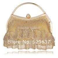 Women Bags Evening Women Clutch Bags Rhinestone Wedding Bridal Handbags Diamond Evening Bag Dress Shaped Crystal Bag
