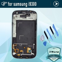Original lcd screen for Samsung Galaxy S3 i9300 lcd with touch screen digitizer assembly replacement red + tools